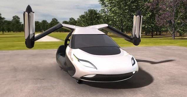 voiture volante intel
