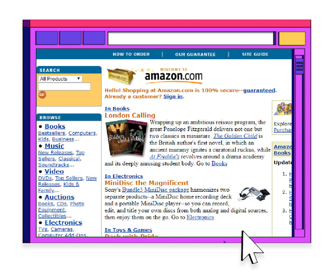 World Wide Web Amazon