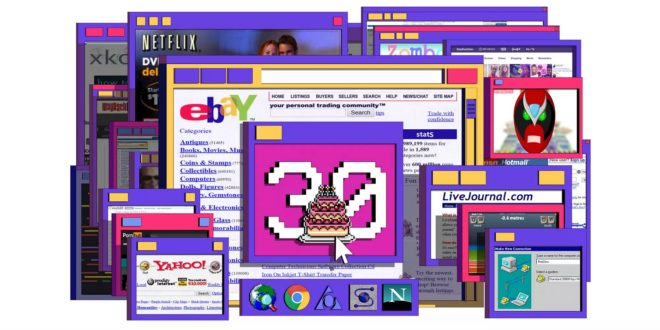 World Wide Web anniversaire 30 ans