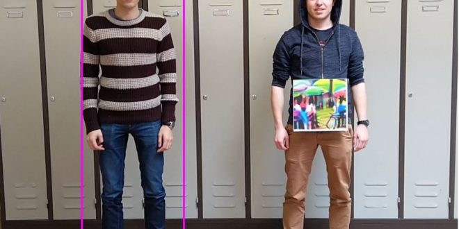 Une intelligence artificielle ne reconnait plus un humain qui porte ce motif coloré