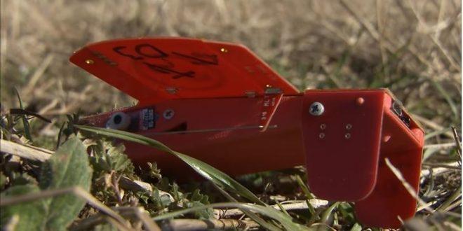 Un drone Cicada à la fin du test de la Nasa