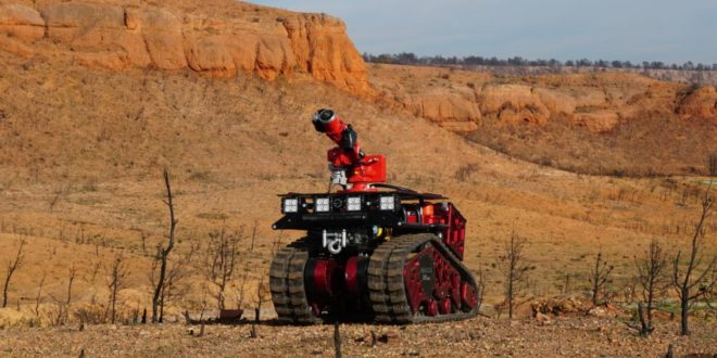 Robot Colossus pompiers