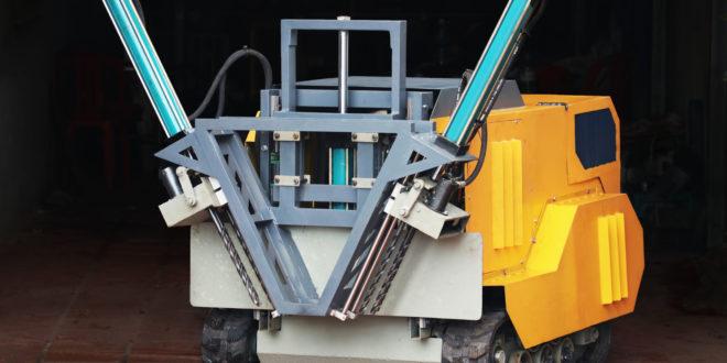Jevit, le robot-démineur de Demine Robotics
