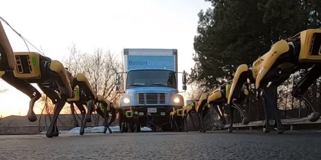 Robots-chiens SpotMinis