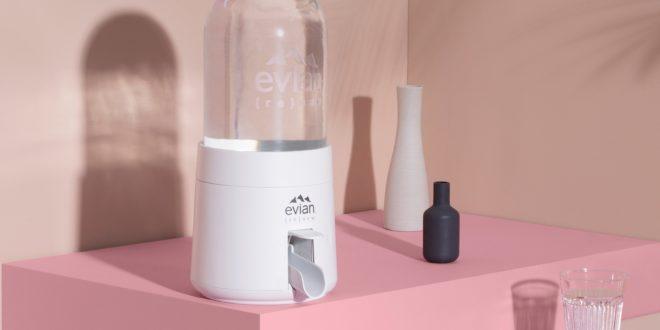 Distributeur d'eau Renew de evian