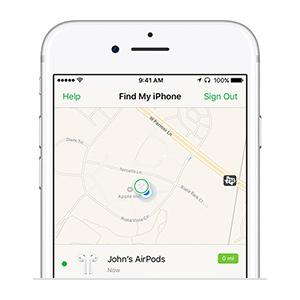 Apple Localiser mon iPhone