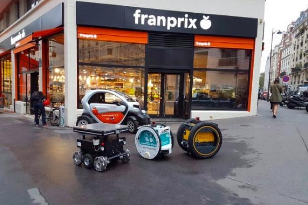 Franprix robot courses