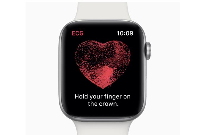 Apple Watch Series 4 détection de problèmes cardiaques