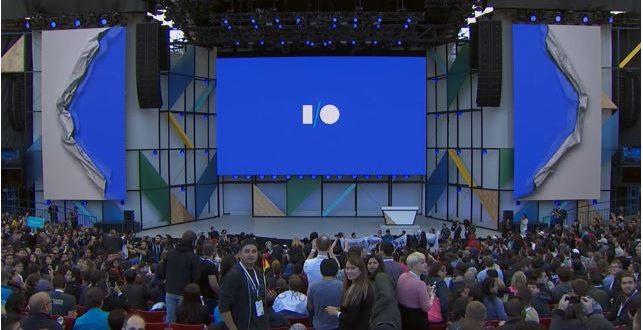 Google I/O 2019 scène