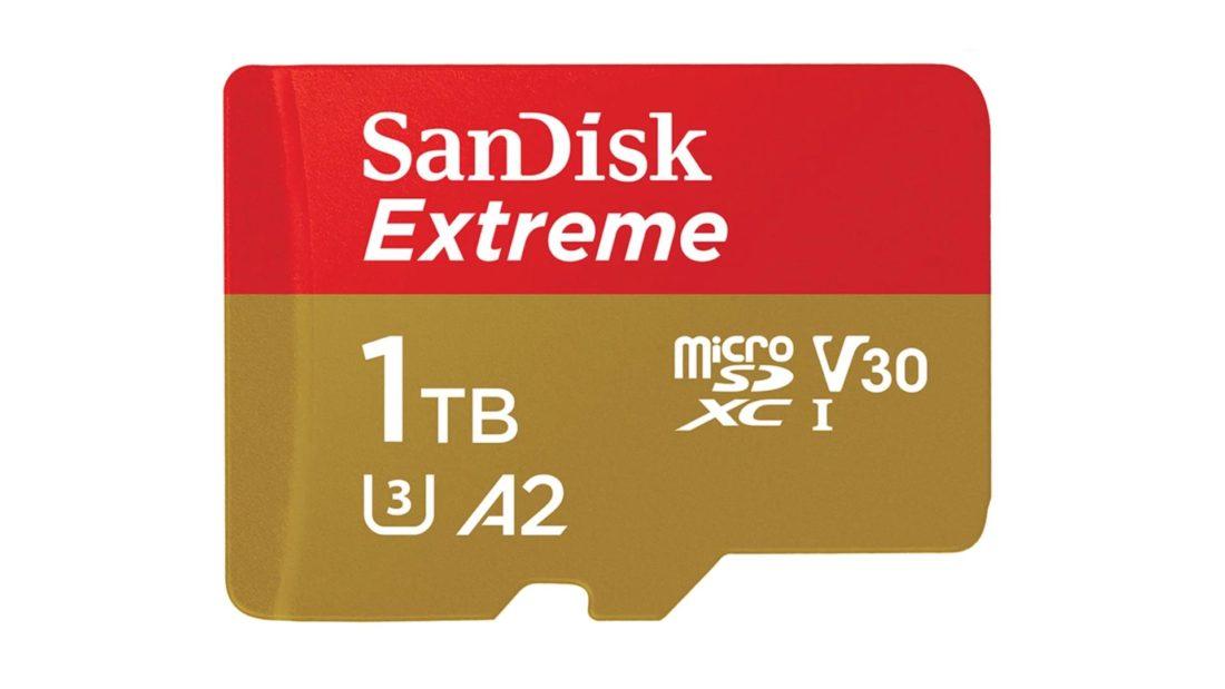 Carte microSD de 1 To de SanDisk