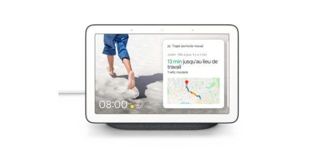 L'écran connecté Google Nest Hub