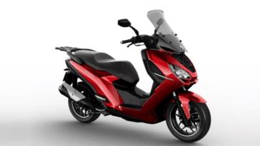 Peugeot scooter connecté