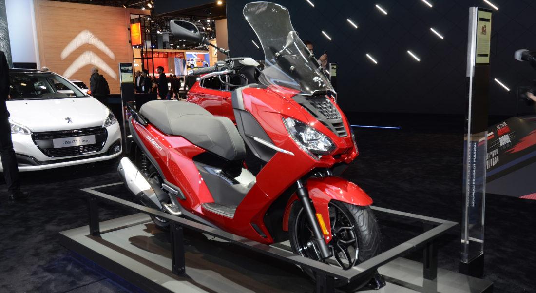 Peugeot Pulsion scooter connecté