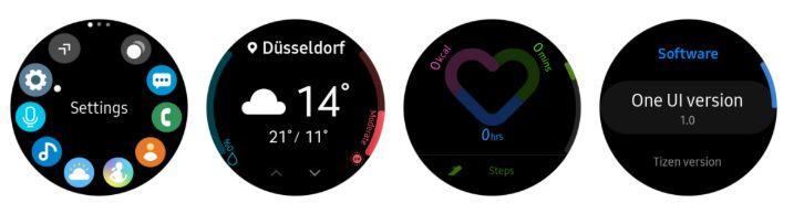 Samsung Galaxy Watch mise à jour