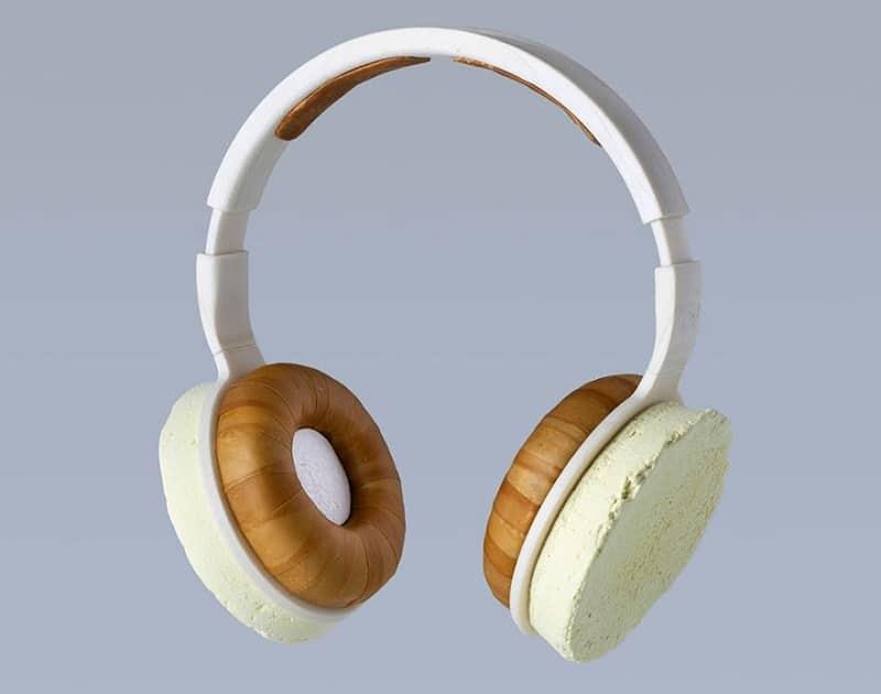 casque audio champignons