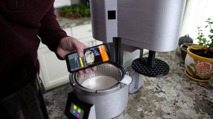 fromaggio avec application mobile