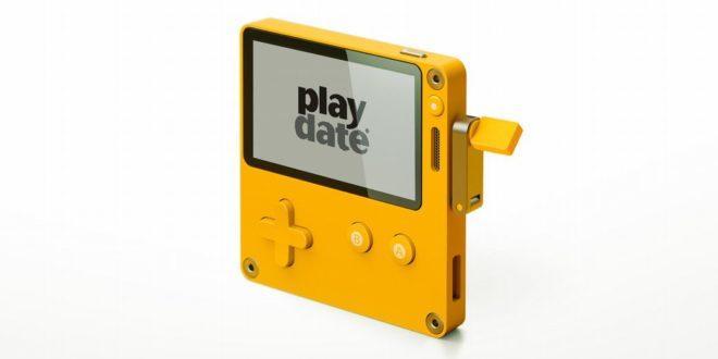 Playdate : la console portable rétro qui fait penser à la GameBoy