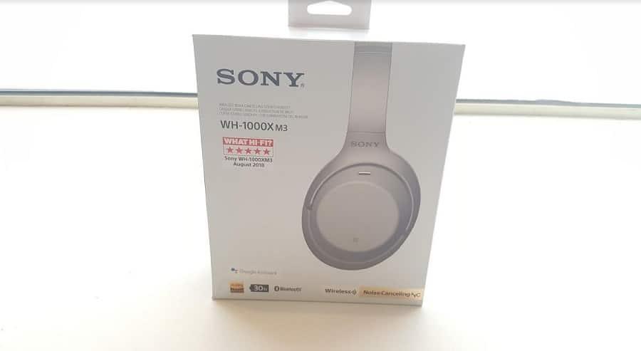sony wh-1000xm3 boite