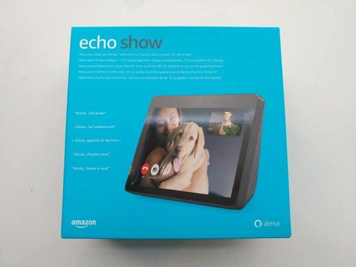 echo show unboxing 1