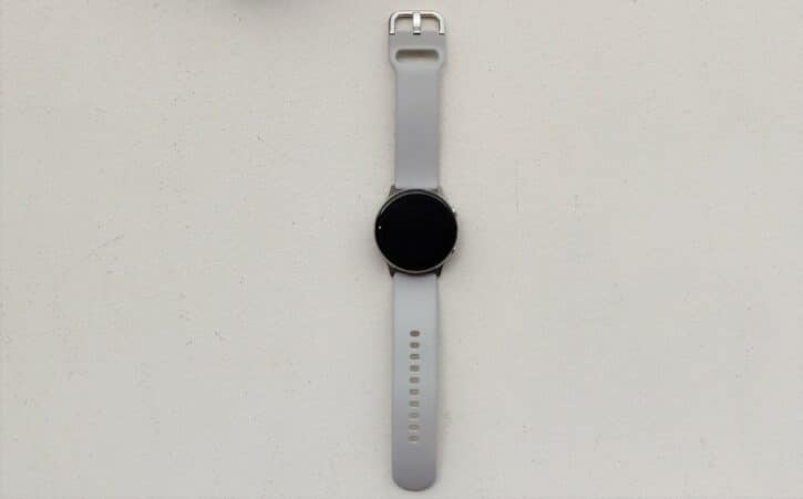 Galaxy Watch Active montre posée