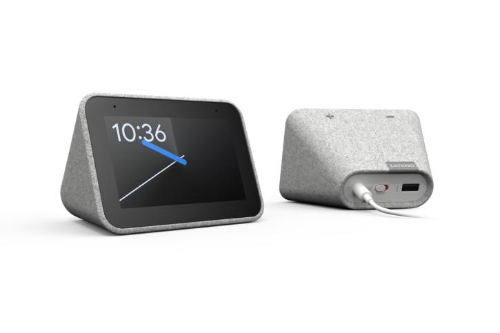 Rendu visuel du Lenovo Smart Clock
