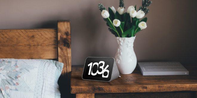 réveil matin connecté Lenovo Smart Clock