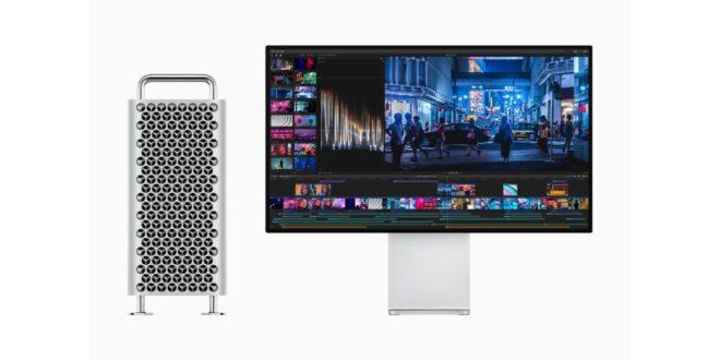 Apple mac pro 2019 avec son écran
