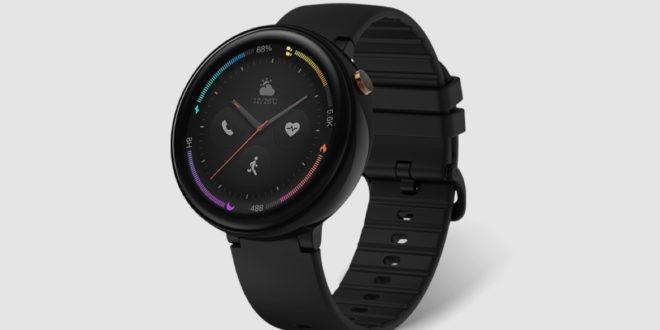 Vue frontale de la montre connectée de Xiaomi Amazfit Verge 2