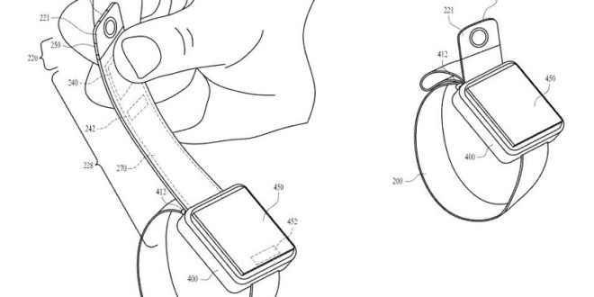 apple watch brevet camera bracelet