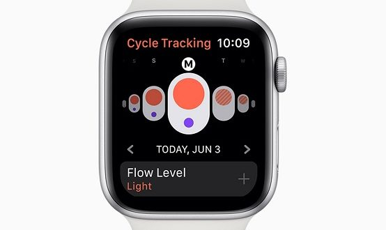 apple watchos6 cycle