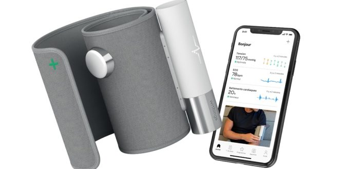Le BPM Core de Withings est un tensiomètre connecté 3 en 1