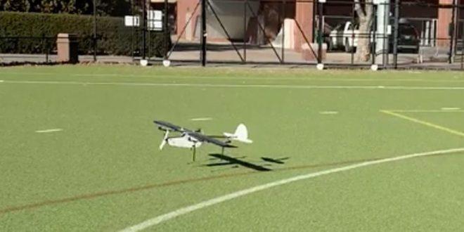 Dopé à l'IA, ce drone se comporte tour à tour comme un avion et un hélicoptère