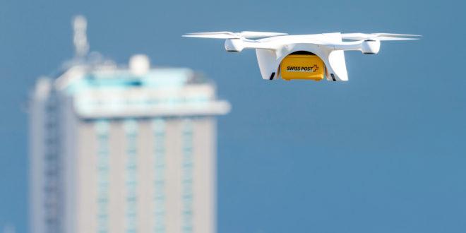 Livraison par drone par la Poste suisse