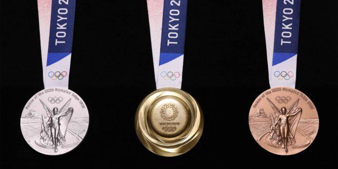 Médailles olympiques des JO 2020 de Tokyo