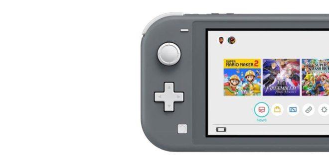 Nintendo Switch Lite : date de sortie et premier aperçu dévoilés