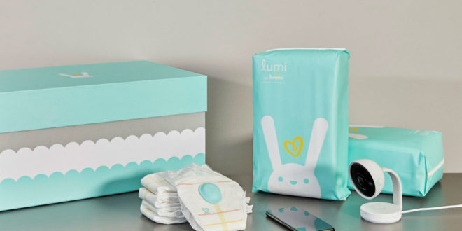 Pampers, couche connectée Lumi