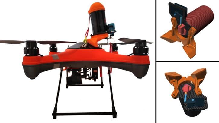 SPLASH DRONE 3+ PARA A.C.T. et système de parachute