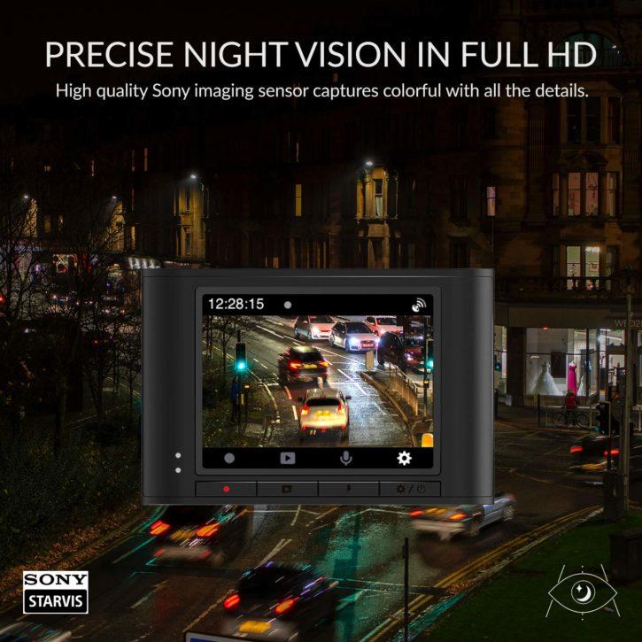 Yi Nightscape, caméra nocturne pour voiture