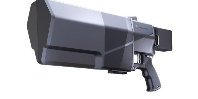 Le DroneGun MkIII est un pistolet anti-drones