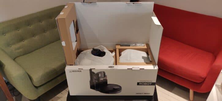 test ecovacs deebot pro 930 unbox 2