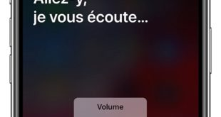 accueil de Siri sur iOS