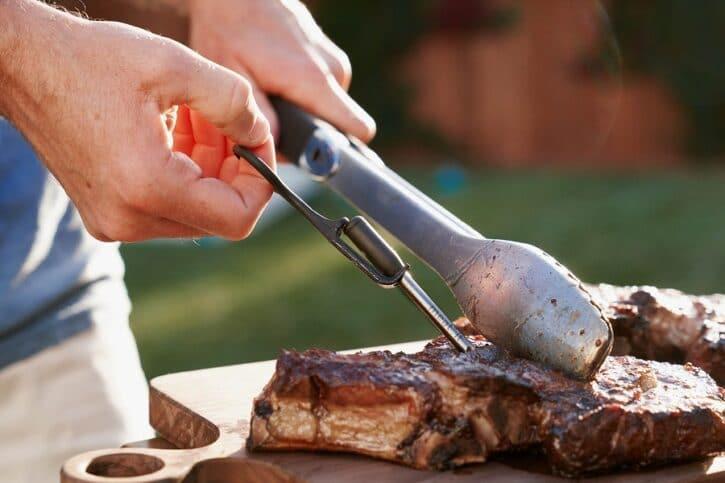 sonde connectee pour barbecue connecte