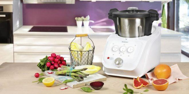 monsieur cuisine connect silvercrest robot cuiseur multifonction