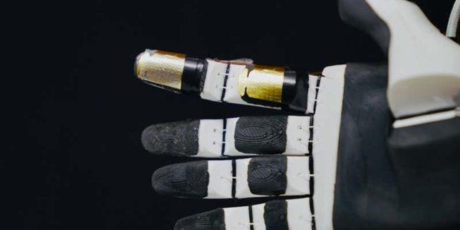 peau artificielle sur prothèse de main