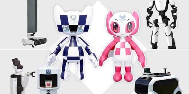 robots toyota pour les JO 2020