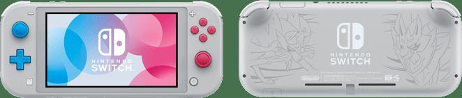 Nintendo switch lite, dos et face