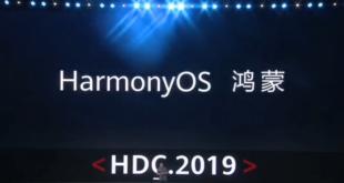 Lancement par Huawei de Harmony OS lors de son Developer Conference 2019