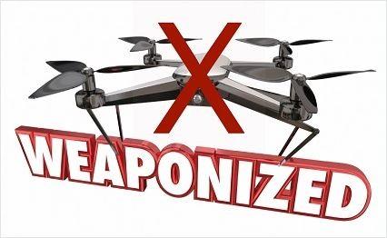 drone armé interdit