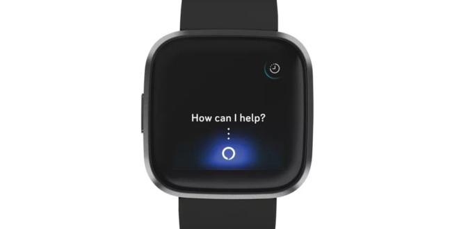 Fitbit versa 2 avec Alexa