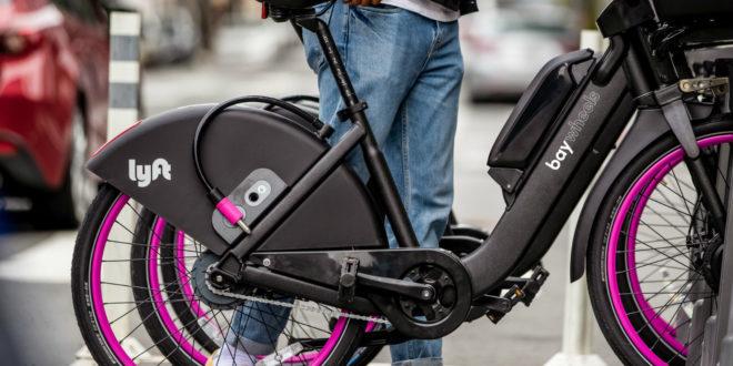 Lyft vélos électriques Bay Wheels